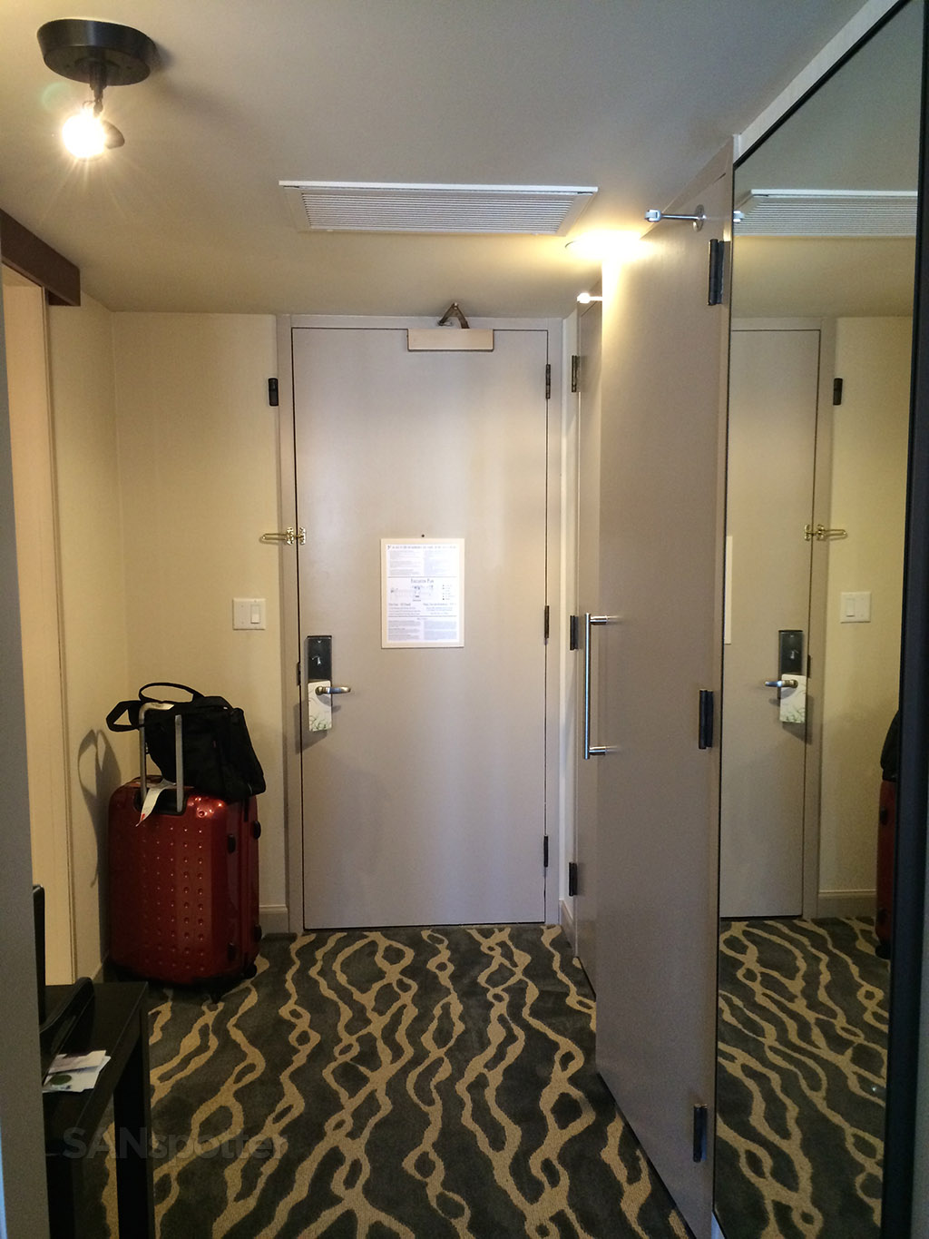 Inside Hotel Room Door: Trip Report: Westin St Francis On Union Square, San