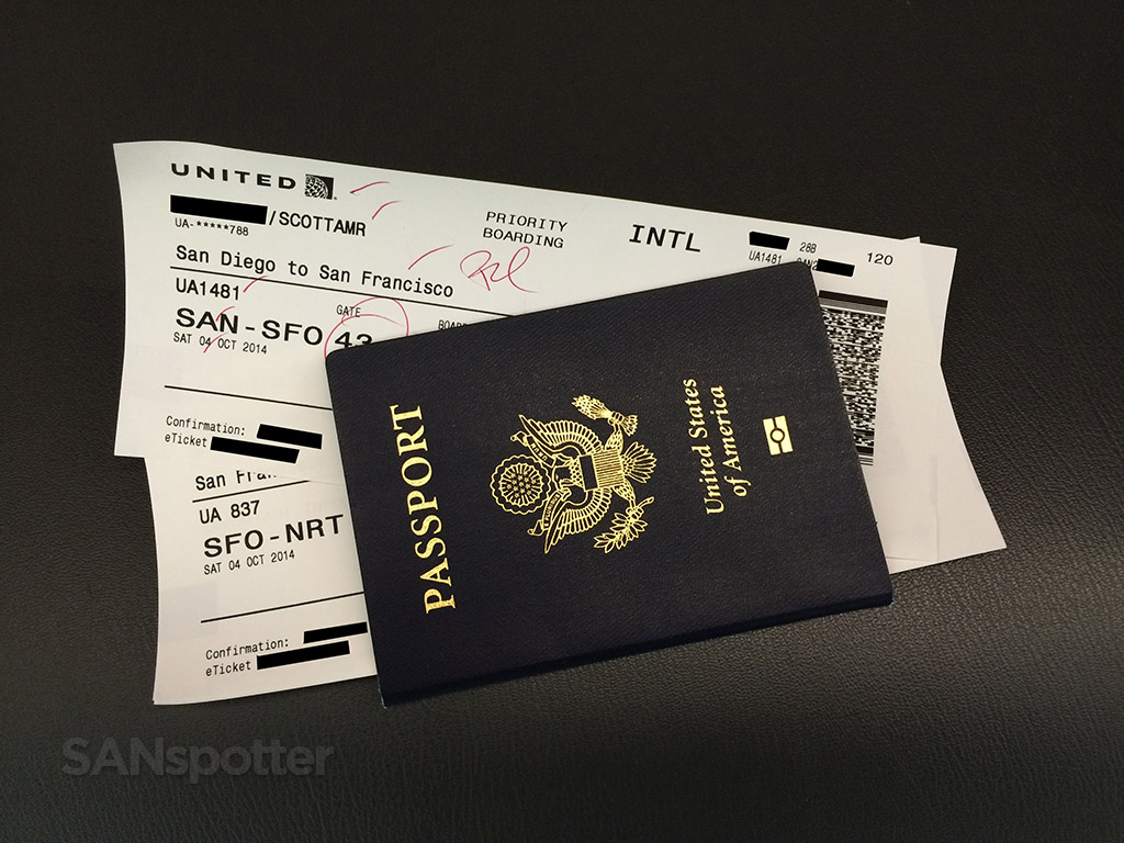 international boarding passes in my passport