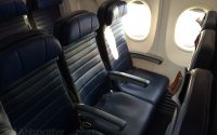 United 737-900 slim line seats