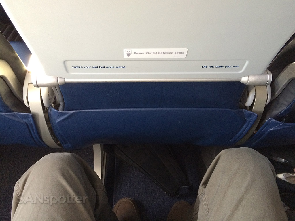 leg room with slim line seats