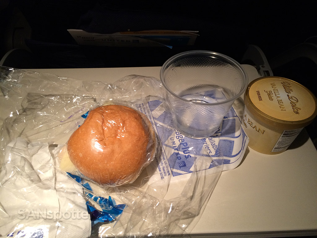 Mid flight snack