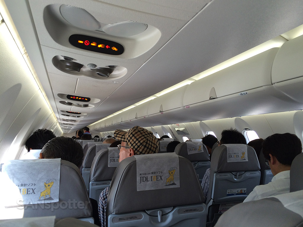 Ibex airlines crj-700 interior