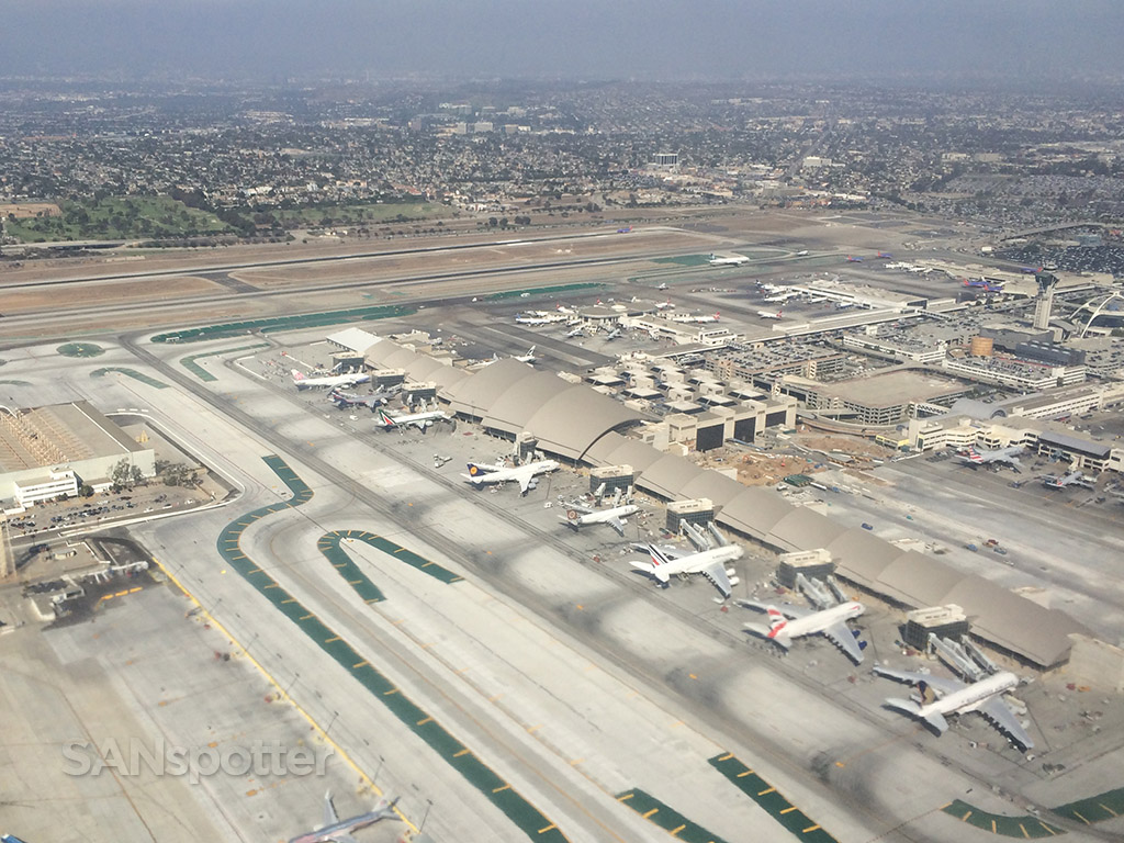 west end of LAX from the air