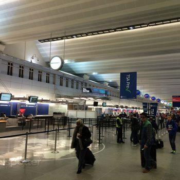 Minneapolis / St Paul airport ticketing hall