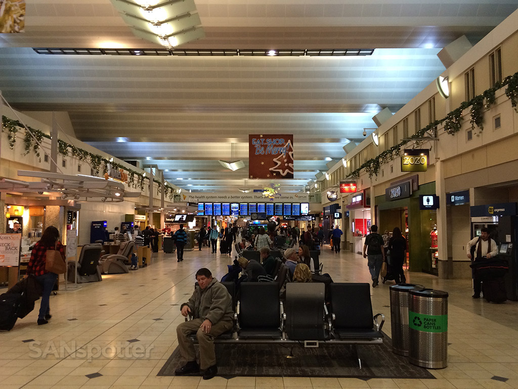 inside MSP main terminal
