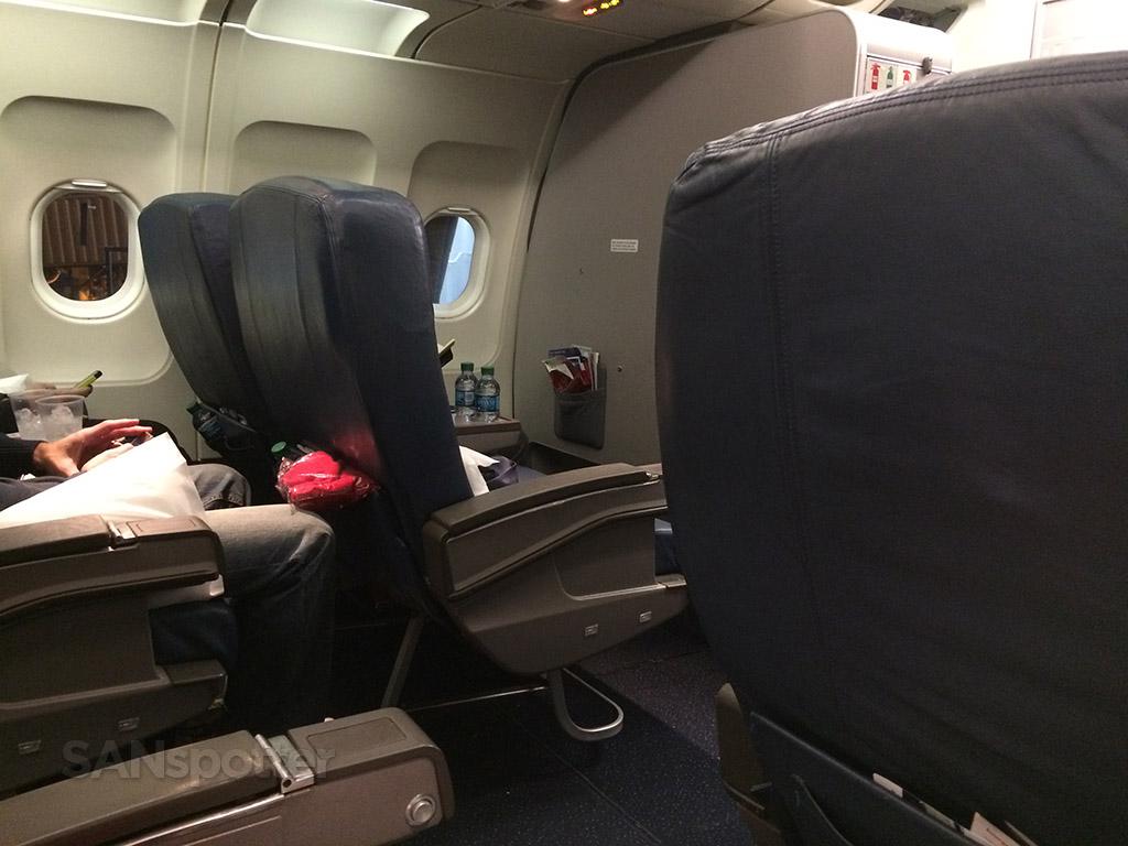 Delta A320 first class cabin