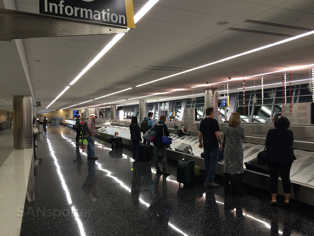 SAN baggage claim