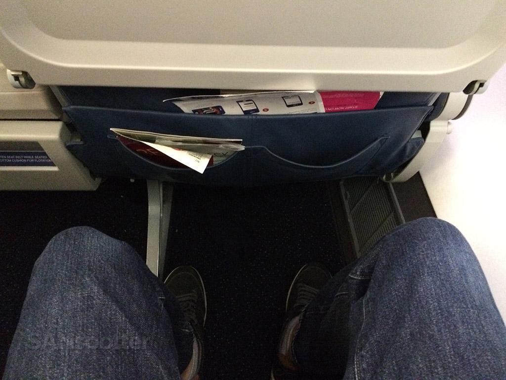 first class leg room