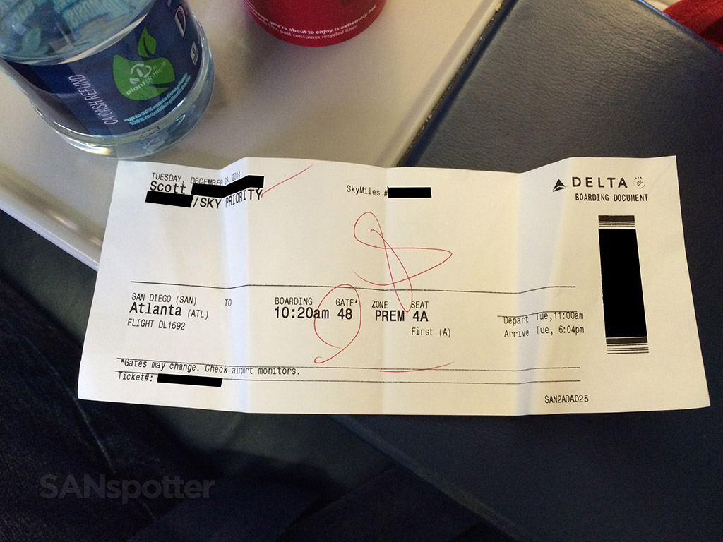 first class boarding pass