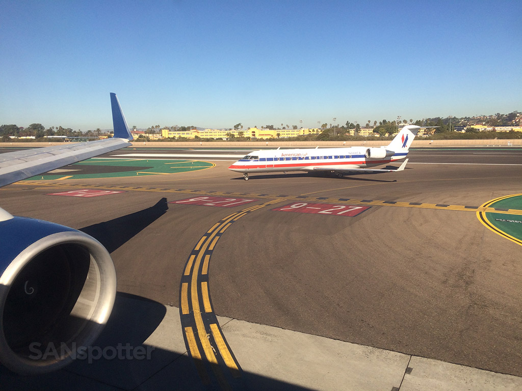 American Eagle ERJ at SAN
