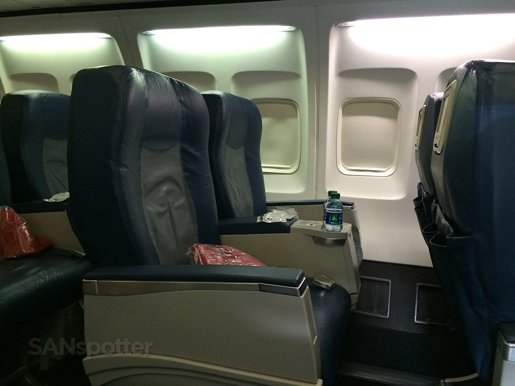 delta airlines 757 first class