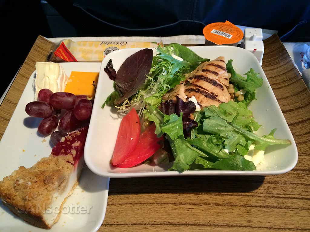 delta first class chicken salad