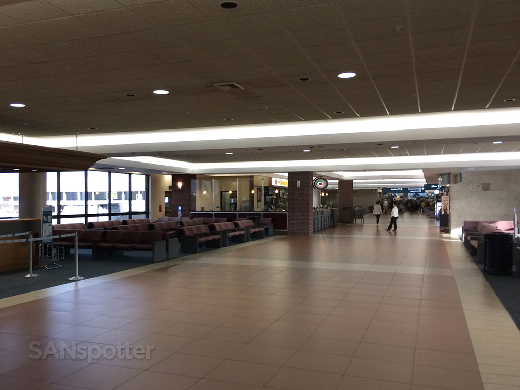 inside concourse c west palm beach airport