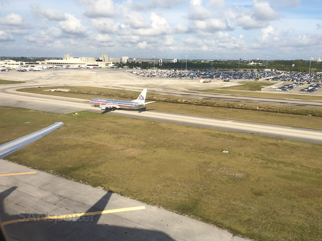 departing west palm beach international airport