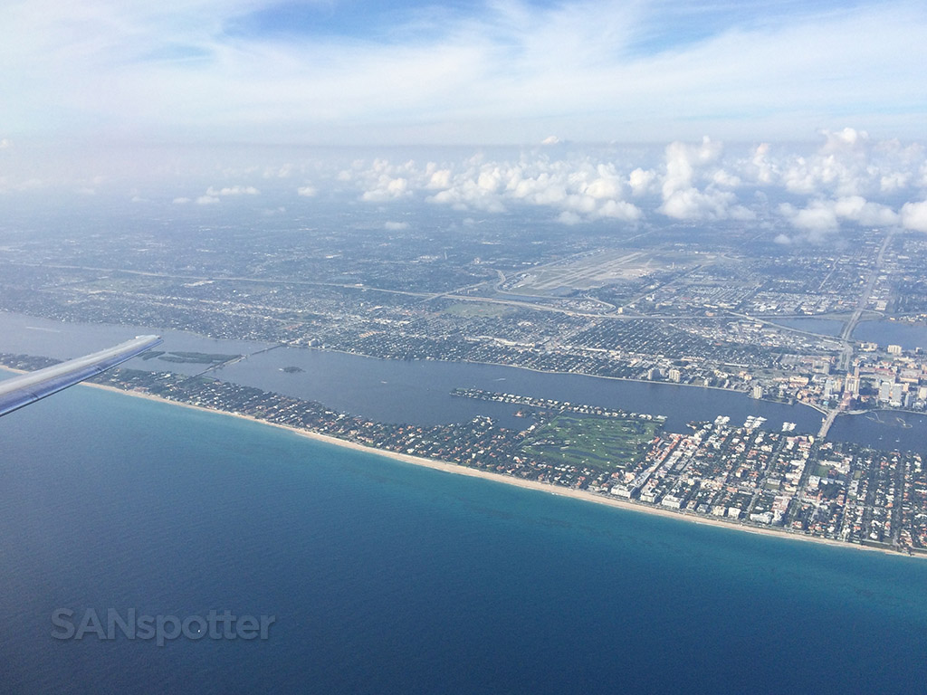 all of west palm beach from the air
