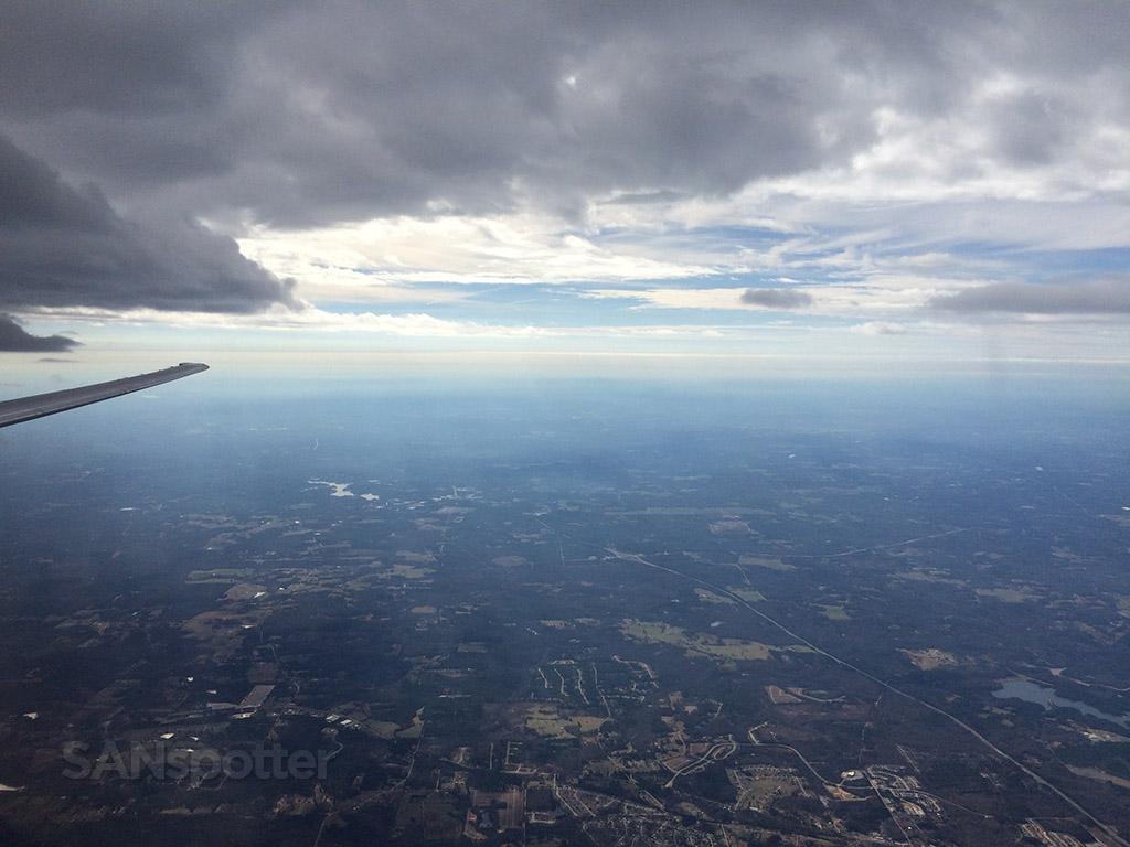 gloomy skies over Georgia