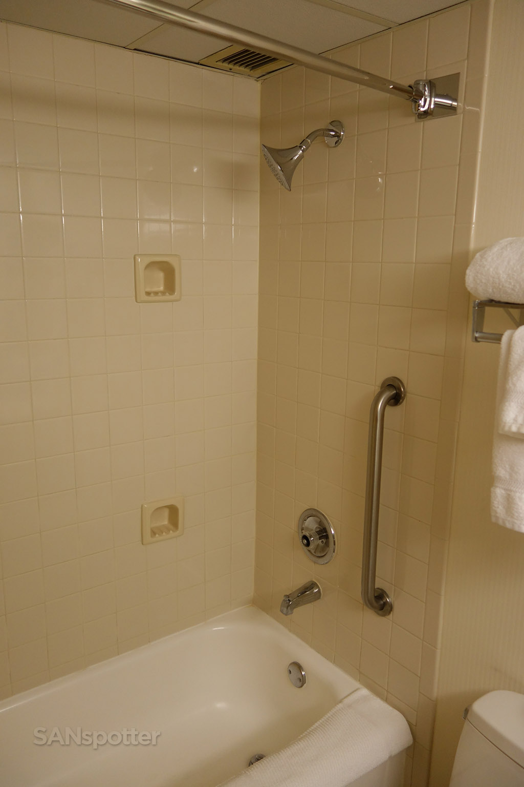 Standard-issue shower