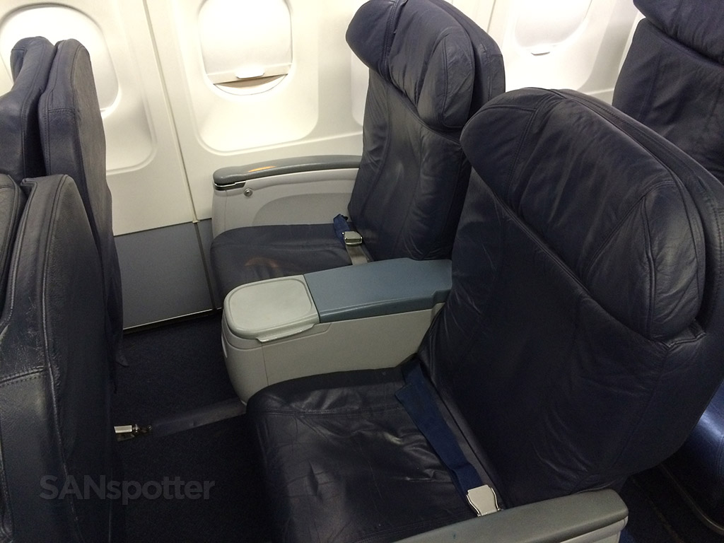 Spirit Airlines Big Front Seats 2E and 2F