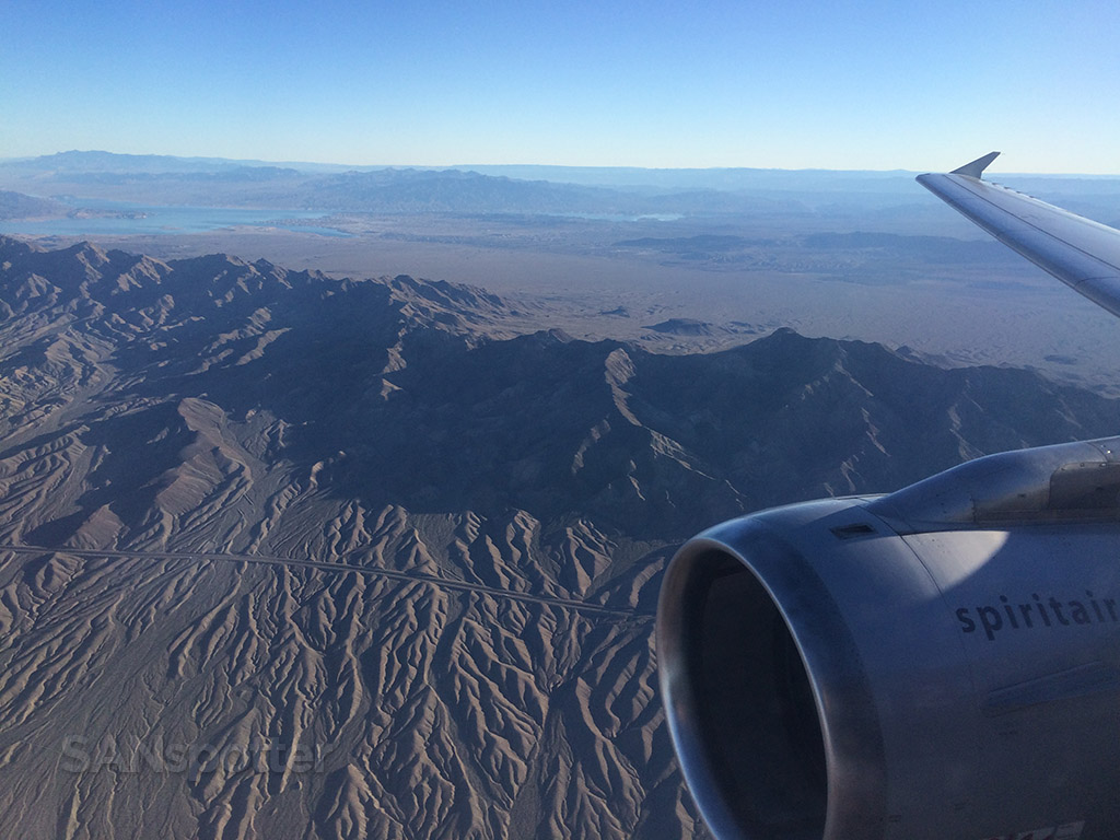 descending into Las Vegas