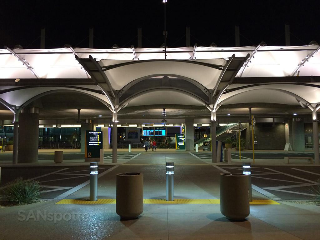 SAN airport terminal