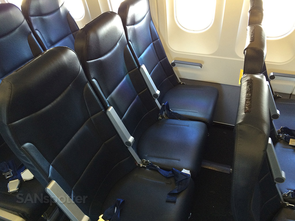 ultra slimline A319 seats spirit airlines