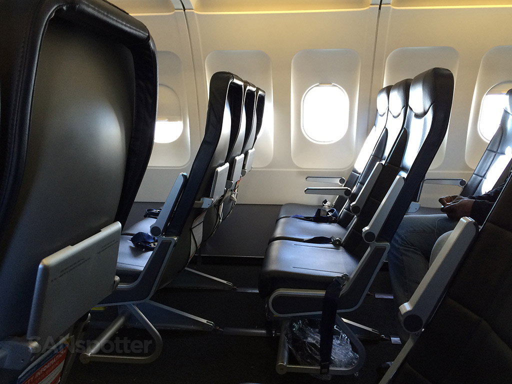 ultra-thin slimline airline seats
