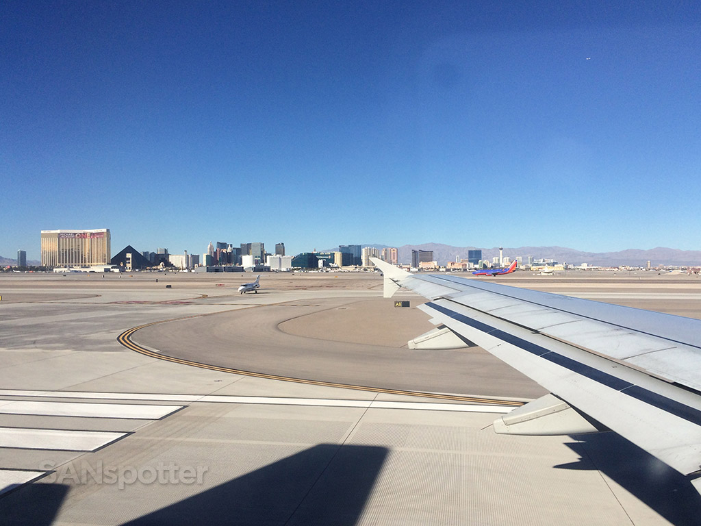 departing las vegas