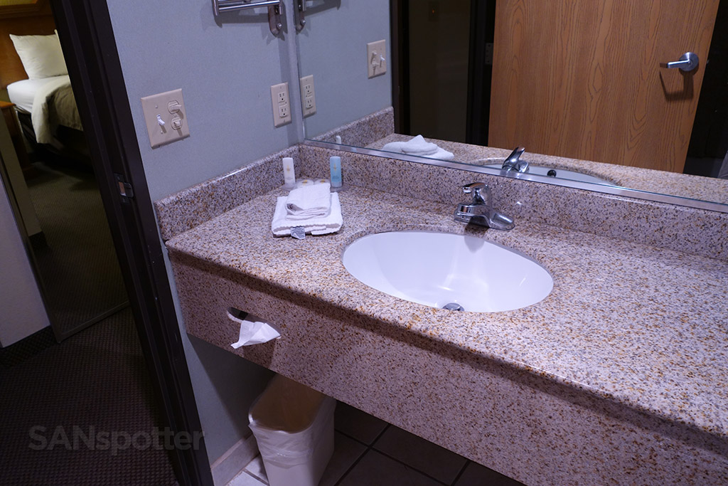clean and simple vanity comfort inn and suites