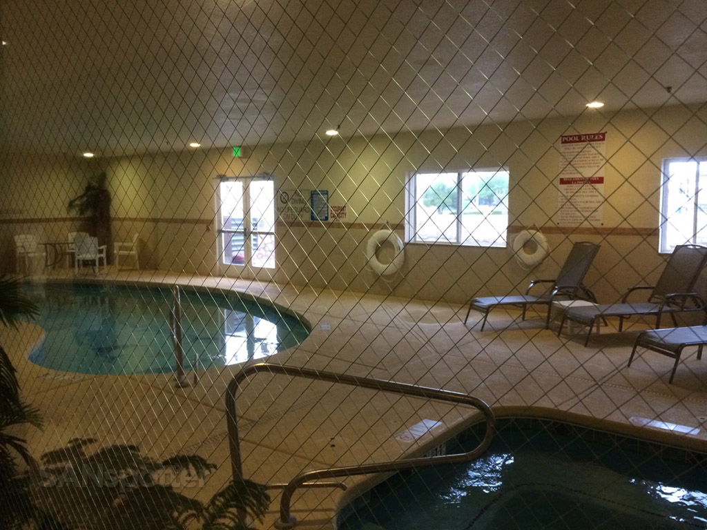 indoor pool comfort inn deming new mexico