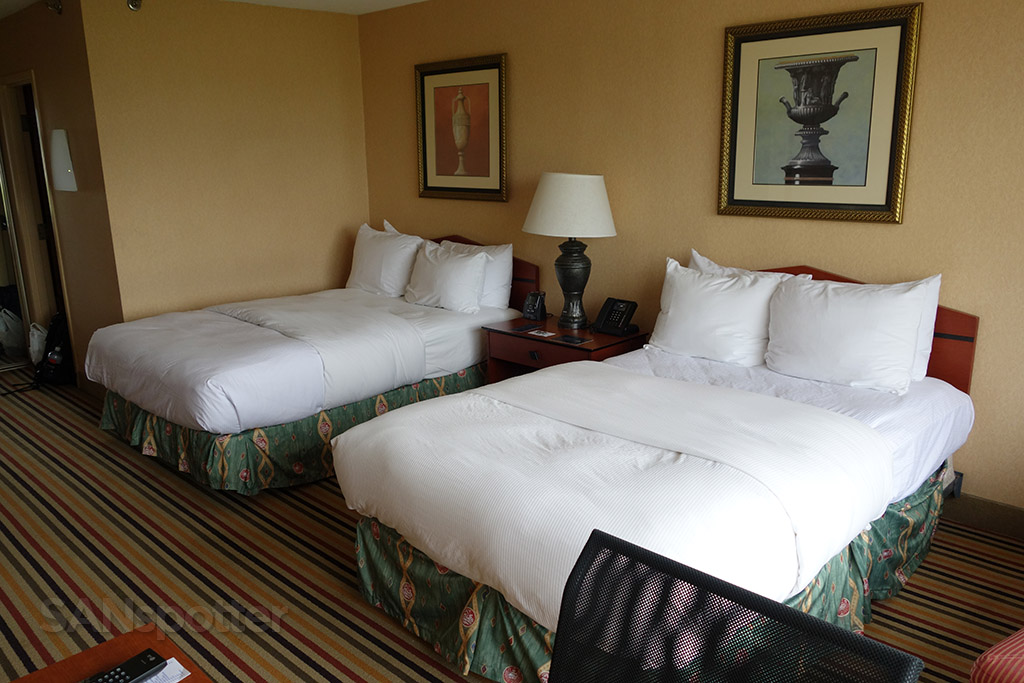 hilton knoxville airport beds