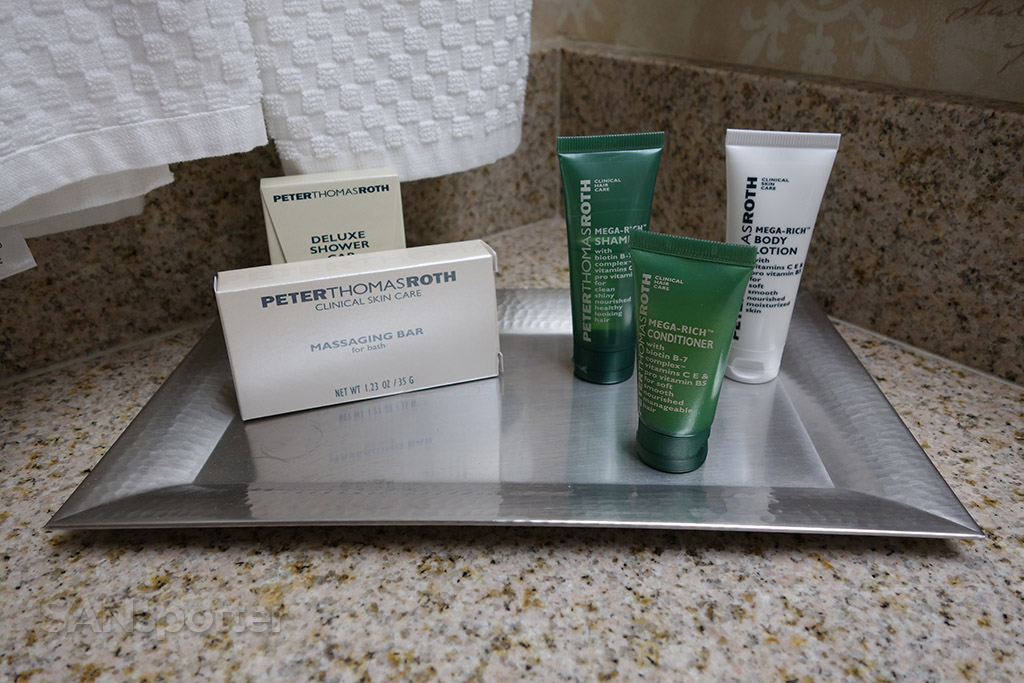 Peter Thomas Roth amenities hilton knoxville airport