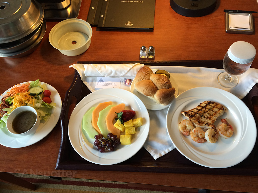 room service dinner hilton knoxville airport