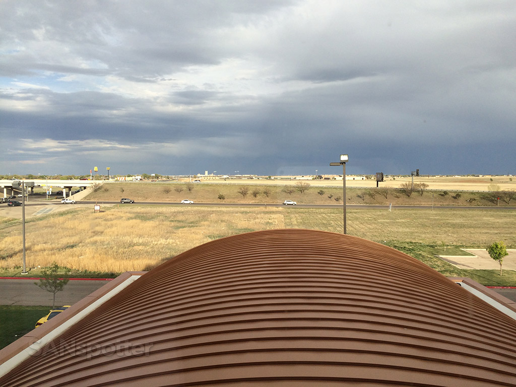 view from my room holiday inn express amarillo
