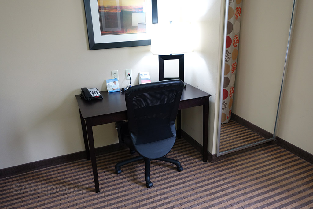 small desk holiday inn express