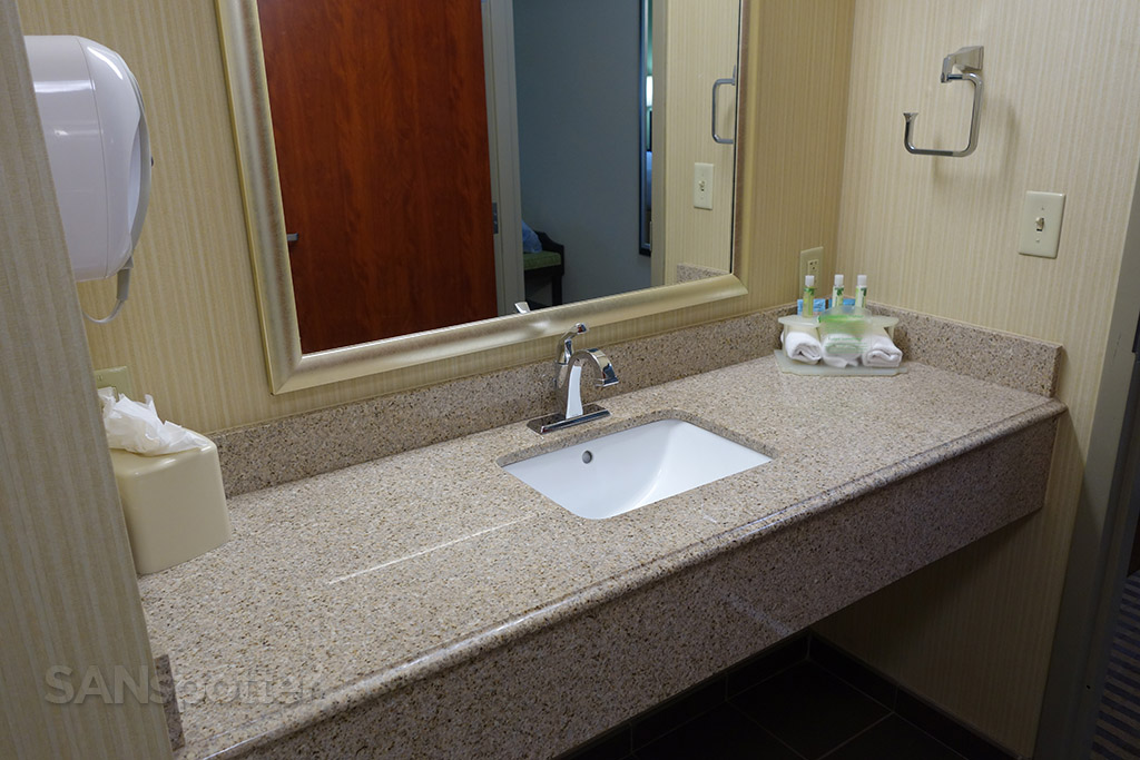 small sink holiday inn express