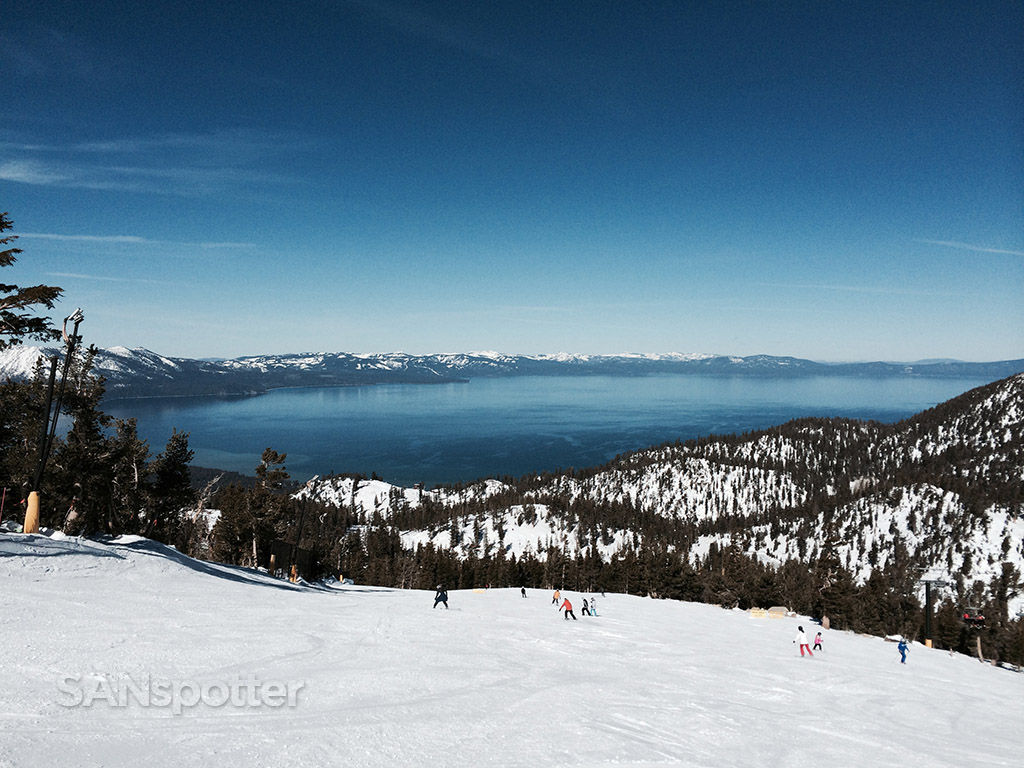 amazing views of lake tahoe from heavenly ski resort
