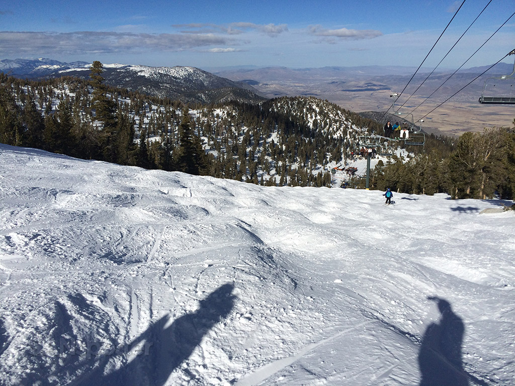 double black diamond mogul run heavenly ski resort