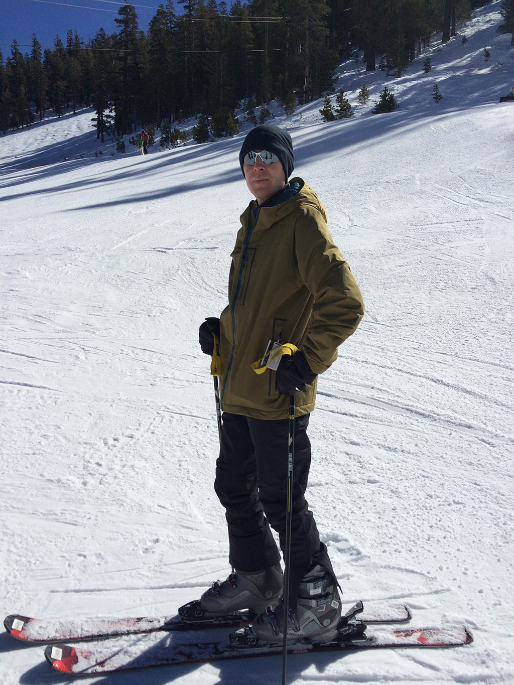 me at heavenly lake tahoe ski resort