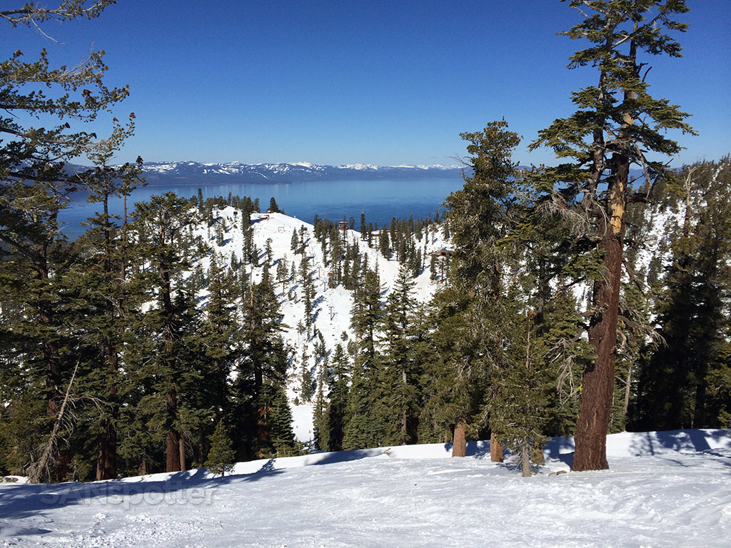 great views of lake tahoe from the top of heavenly