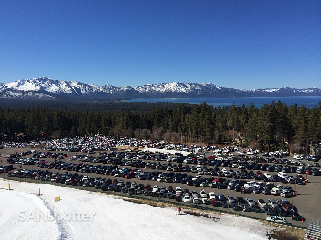 busy day at heavenly lake tahoe