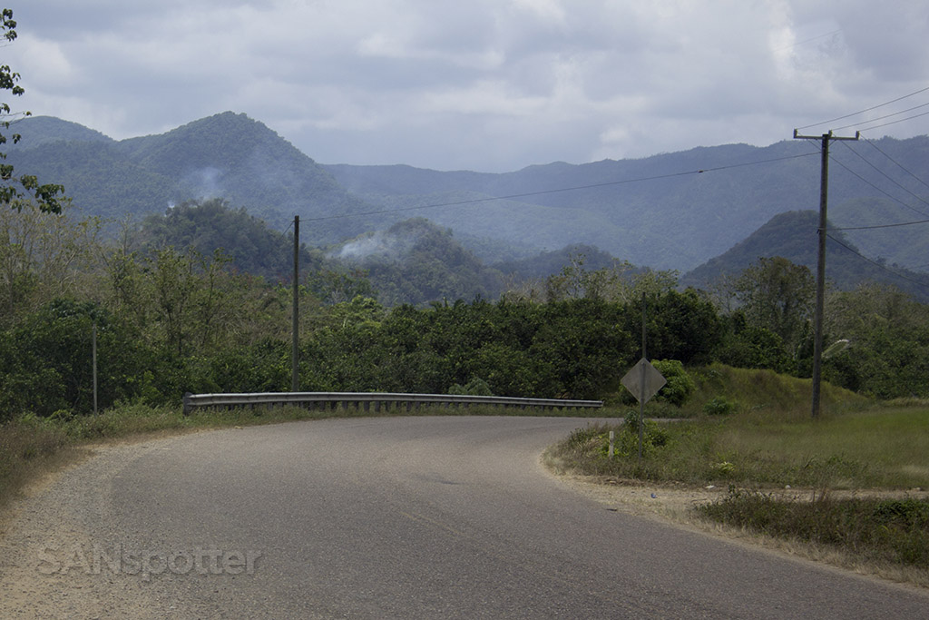 belize mountain scenery