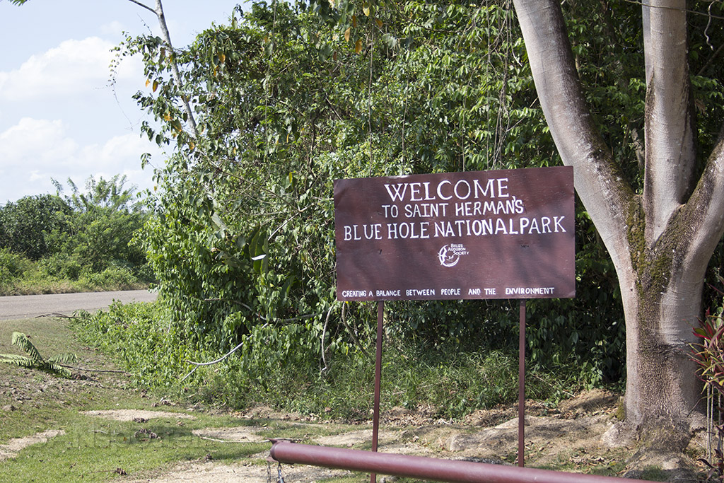 Saint Herman's Blue Hole National Park