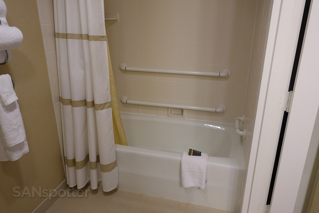 Handicap-Accessible shower and tub