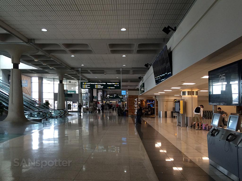 inside terminal 1 san diego airport