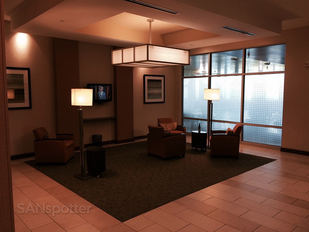 hyatt house lounge area