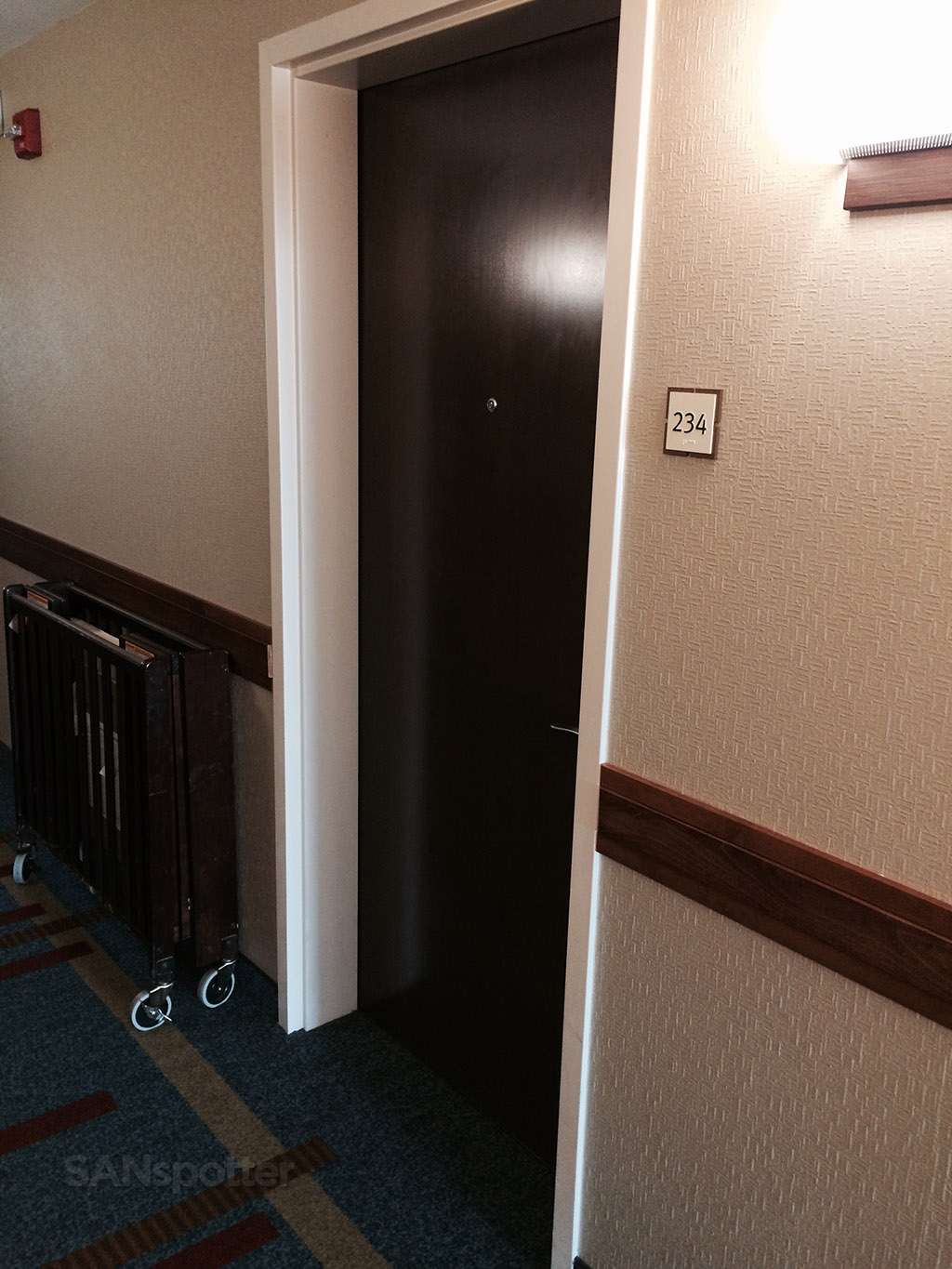 hyatt house room door