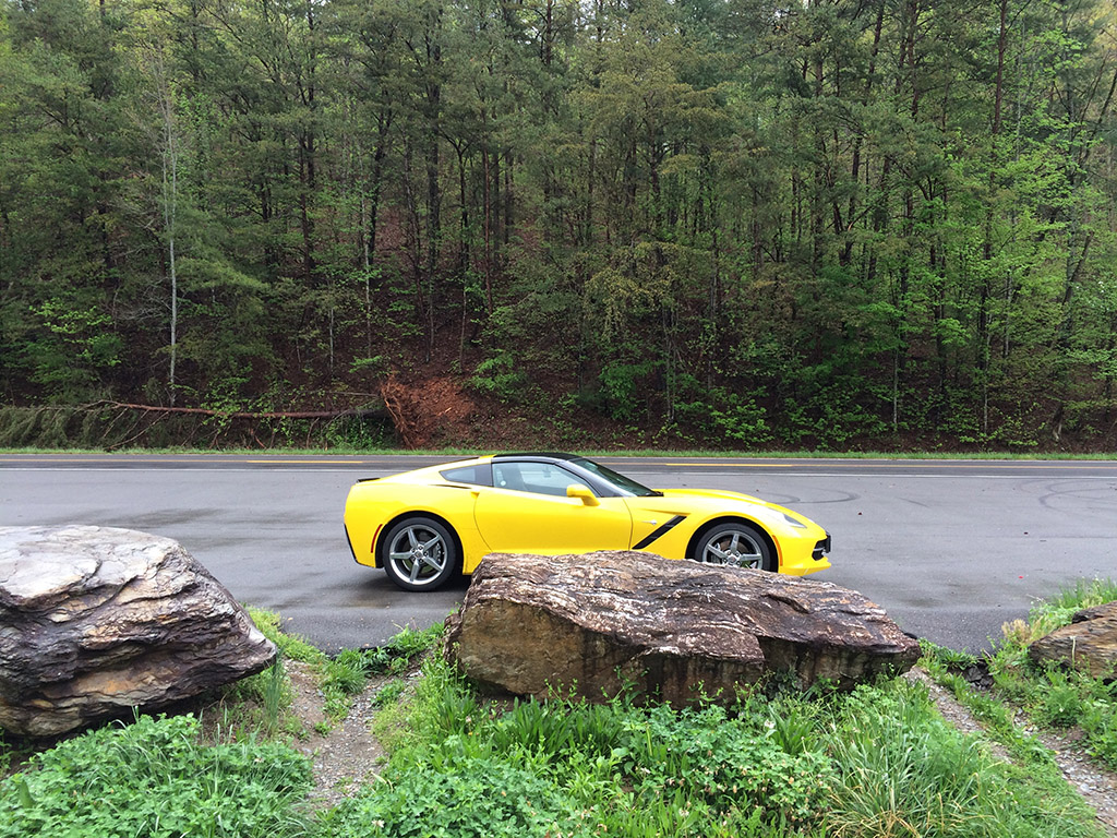 corvette Tennessee mountians