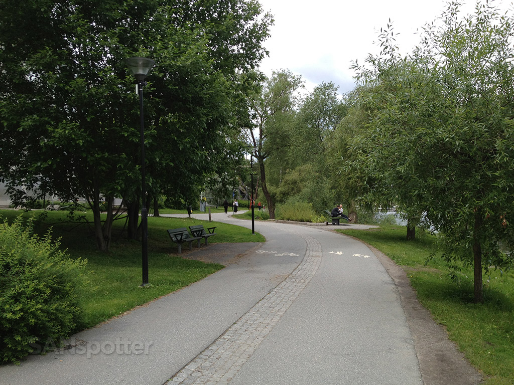 walking path stockholm sweden