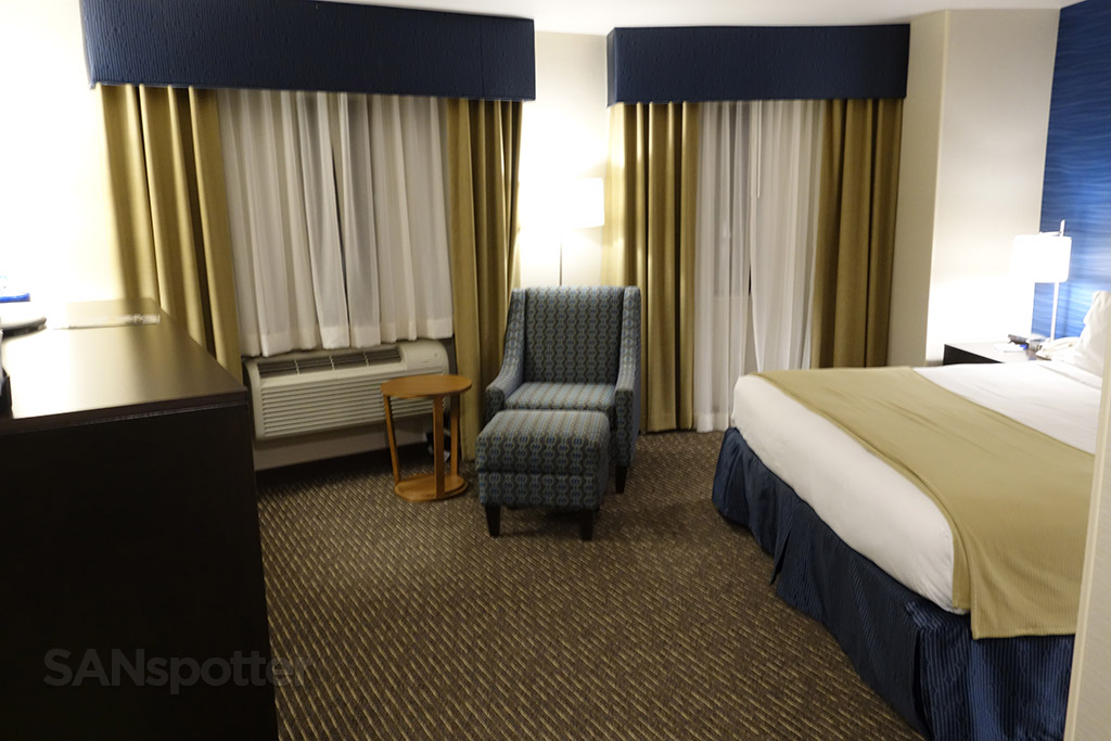 holiday inn express bellingham room