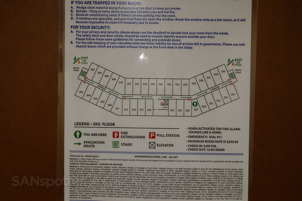holiday inn express bellingham floor plan